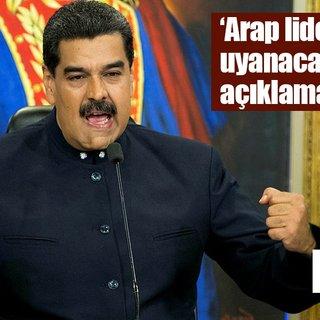 Maduro'dan Filistin'deki saldırılara büyük tepki!