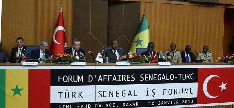 Başbakan Erdoğan Senegalde