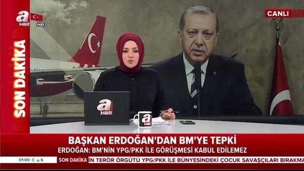 Başkan Erdoğan'dan Büyükelçilik'te önemli açıklamalar