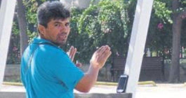 Kazayı telefondan işaret diliyle anlattı