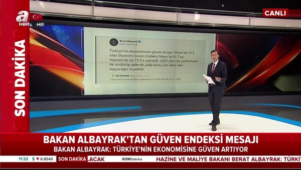 Son dakika: Bakan Albayrak'tan önemli değerlendirme 'Türkiye'nin ekonomisine güven artıyor'   Video