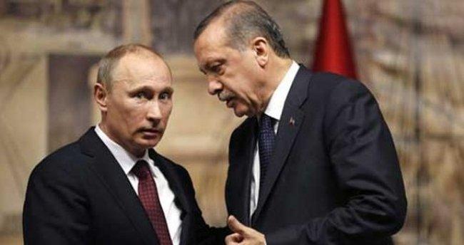 Erdoğan, Putin ile Suriye'yi görüştü
