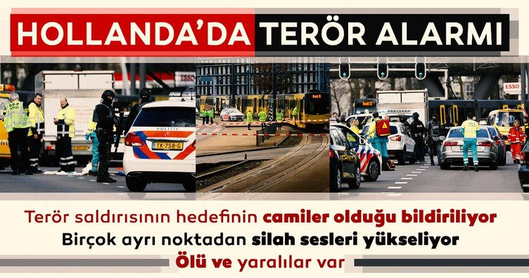 Son Dakika: Hollanda'da silahlı saldırı! Ölü ve yaralılar var