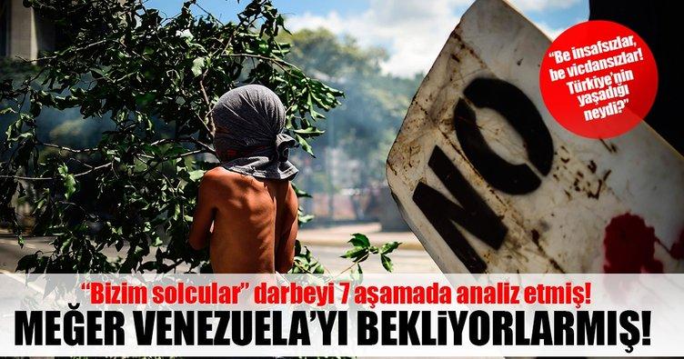 Türkiye'deki solcular darbe analizi için Venezüela'yı beklemiş!