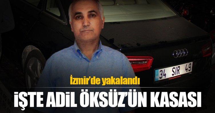 Adil Öksüz'ün kasası İzmir'de yakalandı