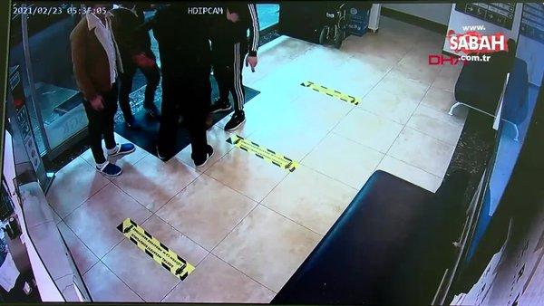 Gaziosmanpaşa'da hemşireye saldırı kamerada | Video