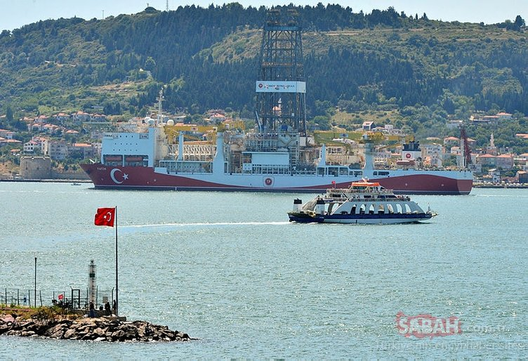 Türkiye için bir ilk! Çanakkale Boğazı'ndan geçti…