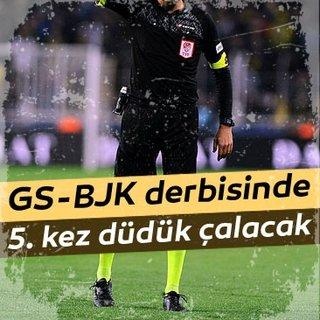 Bülent Yıldırım'ın Galatasaray - Beşiktaş derbisi karnesi