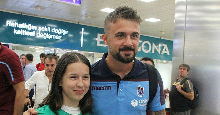 Trabzonspor kafilesi, İstanbul'a geldi