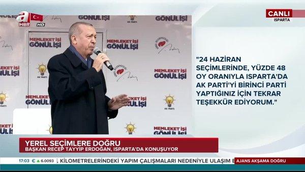 Cumhurbaşkanı Erdoğan: Kandil'deki, Pensilvanya'daki terör baronlarının dizlerinin bağı çözülsün...
