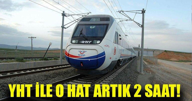 Ankara Sivas arası YHT ile 2 saate iniyor!