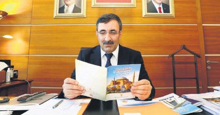 Ayasofya'ya Sultanahmet örneği