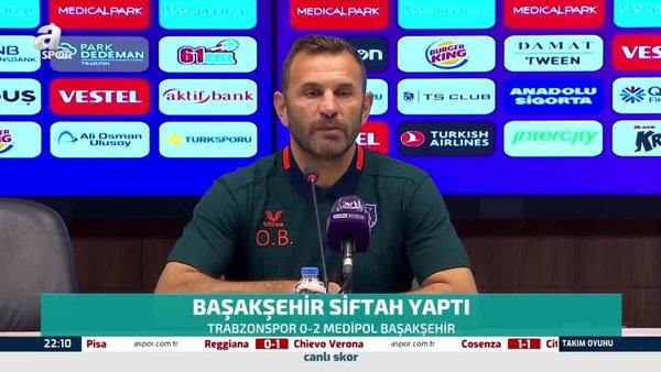 Başekşehir Teknik Direktörü Okan Buruk'tan Trabzonspor yorumu!