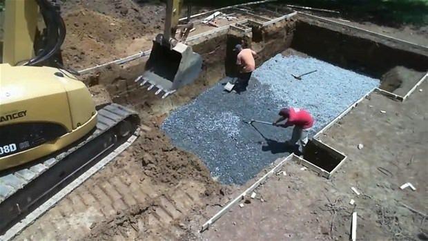 Adım adım bahçede havuz yapımı