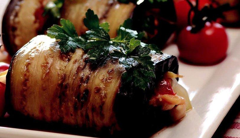 Patlıcanda Tavuk