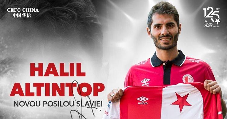 Halil Altıntop, Slavia Prag'a transfer oldu