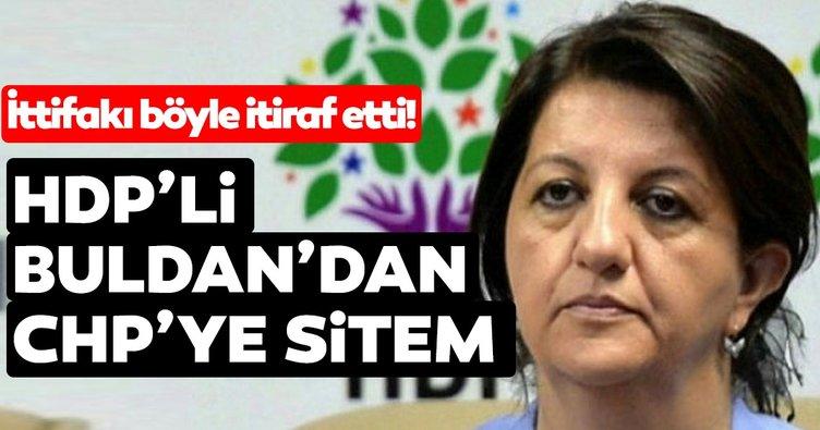 HDP'li Pervin Buldan'dan CHP'ye veryansın: Sessizliklerinin cevabını vereceğiz