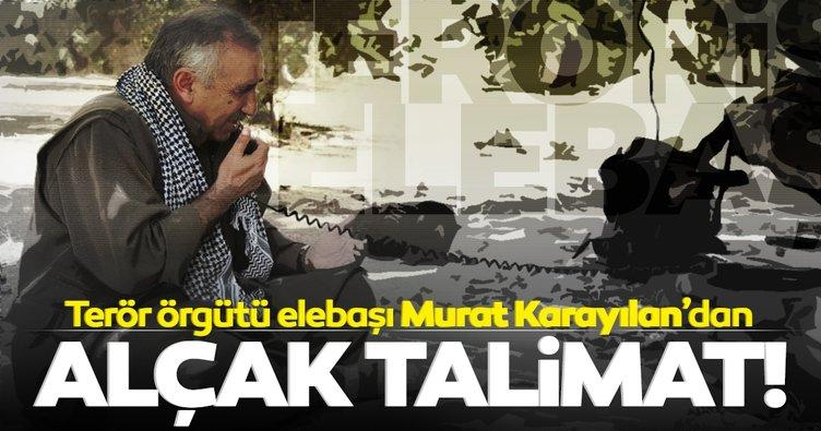 Son dakika | PKK elebaşı Murat Karayılan'ın alçak talimatı ortaya çıktı