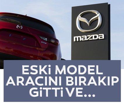 Mazda marka araba bambaşka bir modele dönüştü! Eski Mazda otomobilin ilk halinden eser kalmadı