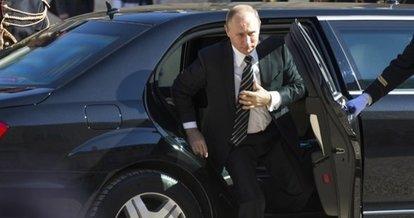Rusya Devlet Başkanı Putin'in konvoyunda bomba ihbarı