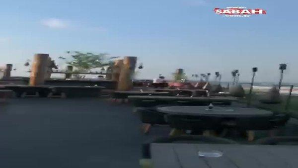 Son dakika! Beyrut'ta büyük patlama! İşte şok görüntüler! | Video