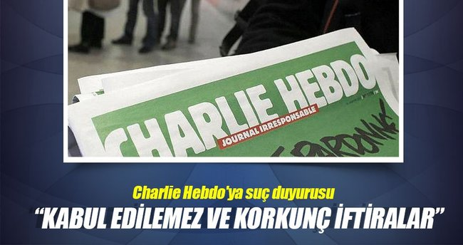 İtalyanlardan Charlie Hebdo'ya suç duyurusu