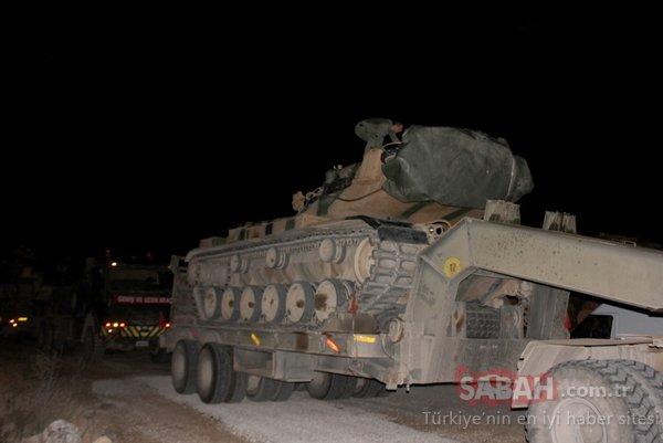 Suriye Sınırı'na askeri sevkiyat