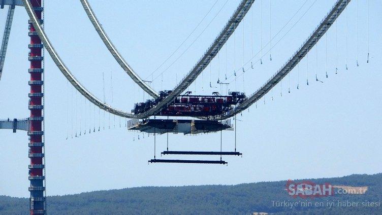 1915 Çanakkale Köprüsü'nde yeni gelişme: Dünyada bir ilk olacak