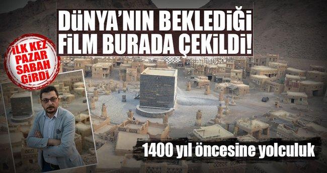 1400 yıl öncesine yolculuk