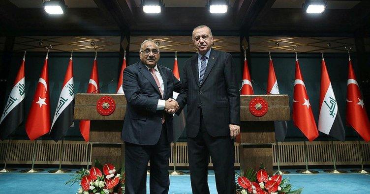 Irak Başbakanı Abdulmehdi'den Erdoğan'a taziye telefonu