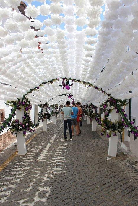 Kağıt çiçek festivali