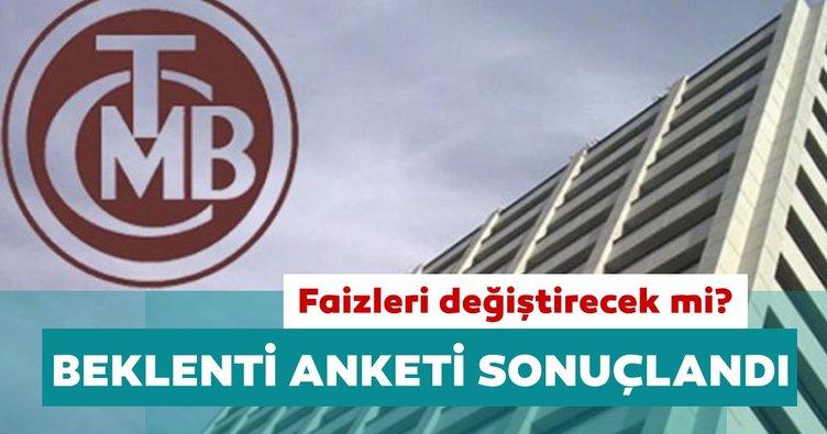Merkez Bankası 'PPK Beklenti Anketi' sonuçlandı