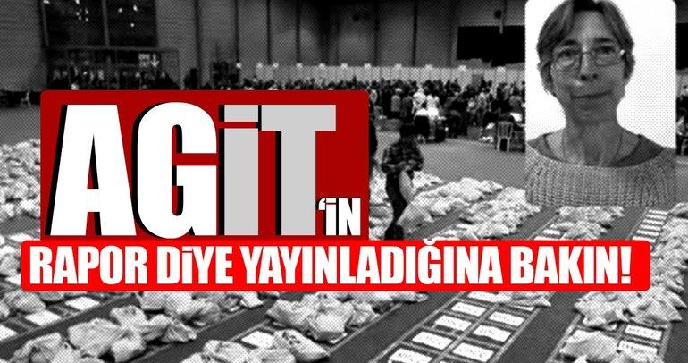 AGİT rapor mu hazırladı? CHP ve HDP'den yalan mı satın aldı?