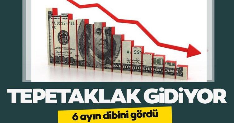 Dolarda düşüş hızlanıyor