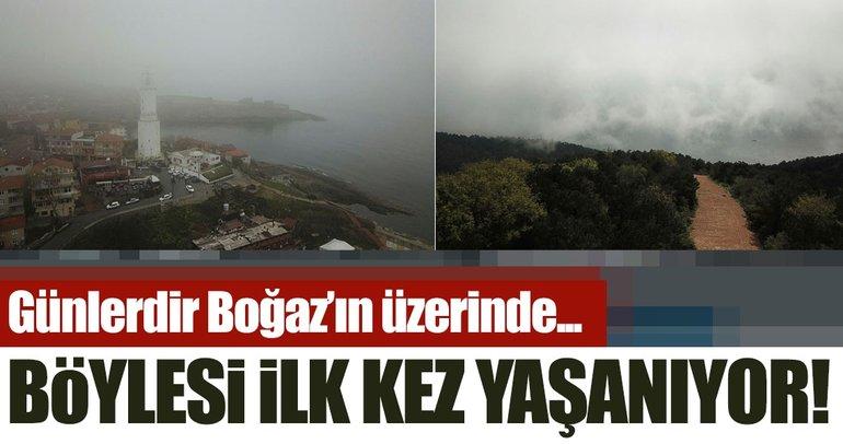 İstanbul Boğazı'nda ilk kez yaşandı! Günlerdir yüzlerce geminin beyaz kabusu...