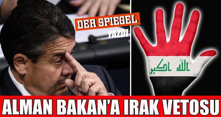Almanya Dışişleri Bakanı Gabriel'in Irak ziyaretini iptal ettiği iddiası