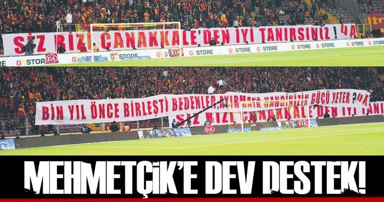 Mehmetçik'e dev destek