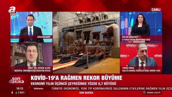 SON DAKİKA! TÜİK ekonomik büyümerakamları ne anlama geliyor? Türkiye, üçüncü çeyrekte %6,7 büyüdü | Video