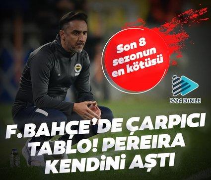 Fenerbahçe'de Vitor Pereira kendini aştı