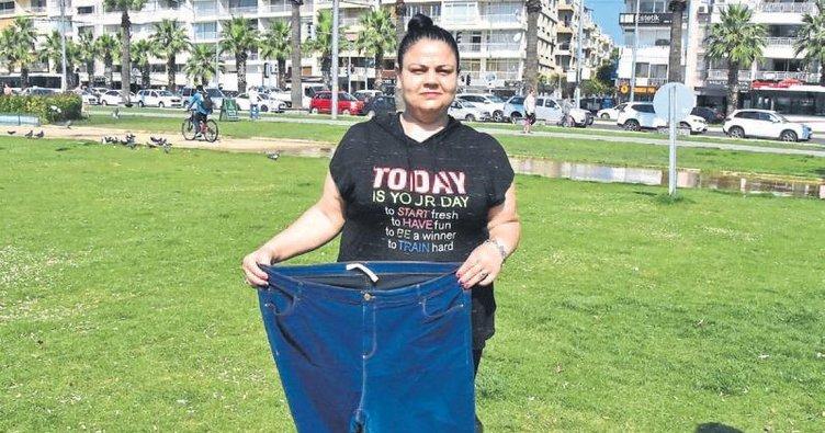 6 ayda 33 kilo zayıfladı