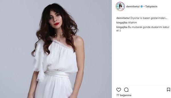 Ünlü isimlerin Instagram paylaşımları (30.03.2018) (Almeda Abazi)