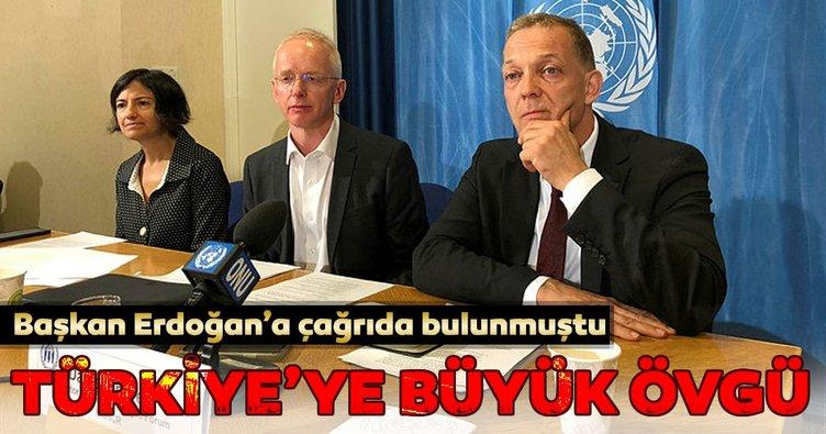 Başkan Erdoğan'a çağrıda bulunmuştu... Türkiye'ye büyük övgü