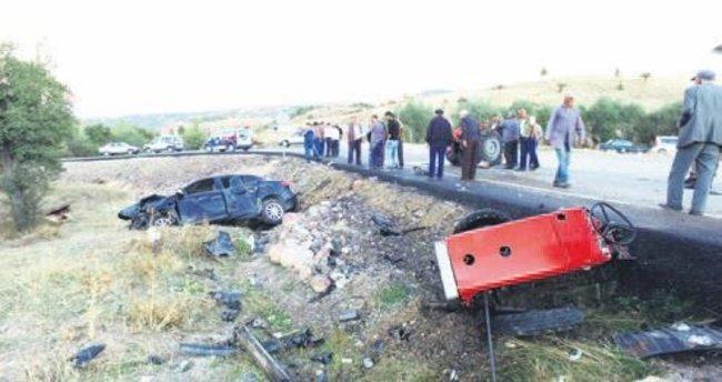 Başkan Karakaya kazada yaralandı