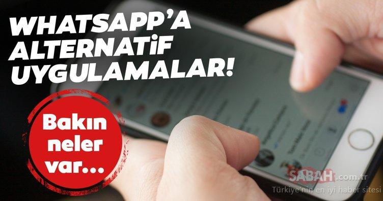 WhatsApp'a alternatif mesajlaşma uygulamaları 2021! WhatsApp dışında hangi uygulamalar kullanılabilir?