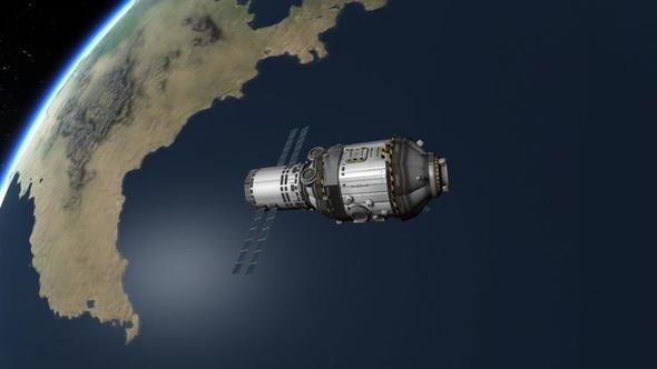 Çin Dünya'ya düşecek Tiangong-1 hakkında açıklama yaptı! Riskli bölgeler arasında Türkiye de var