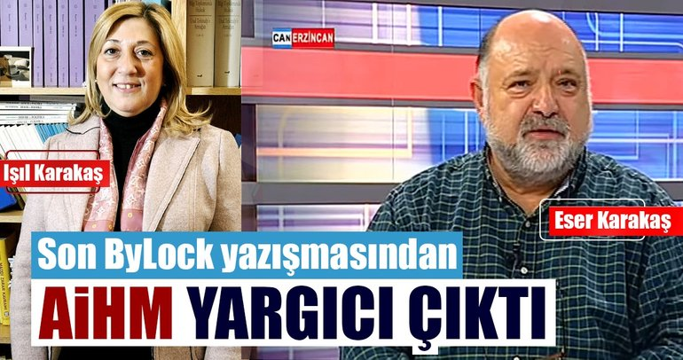 ByLock'tan AİHM yargıcı çıktı