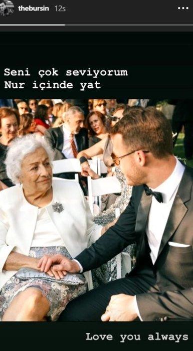 Kerem Bürsin'in acı günü! Kerem Bürsin elinden tuttuğu fotoğraf ile veda etti!