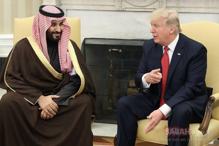 İşte Veliaht prens bin Selman'ın ilginç ilişkileri