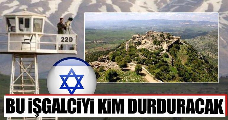 İşgalciden Golan Tepeleri açıklaması