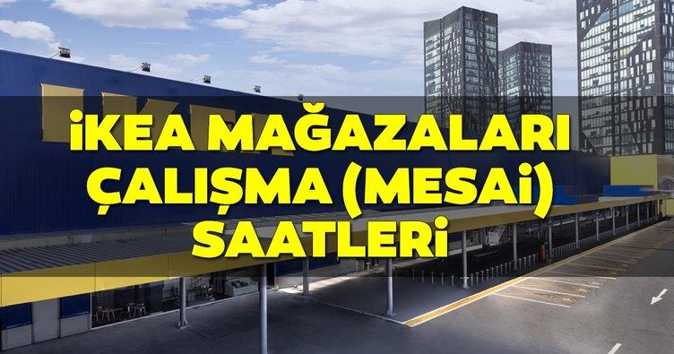 IKEA çalışma saatleri tablosu! 2019 IKEA mağaza ve restoran saat kaçta açılıyor, kaçta kapanıyor? Hafta sonu açık mı?